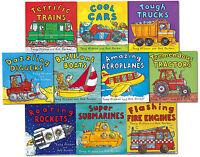 Amazing Machines Truckload Children Collection Tony Mitton 10 Books Set Cool Car