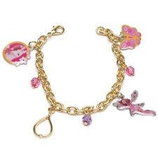 MIA E ME bracelet or avec 4 pendentifs 3 chapelet coloré de fille