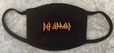 Def Leppard Rock Band Custom Protective Face Mask Washable Reusable