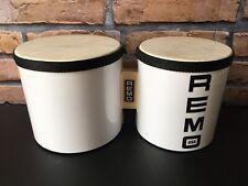 Remo USA Lightweight Bongos In White - World Percussion- Lofi - Analog - Sample