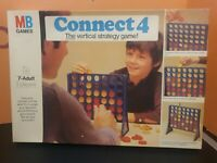 Vintage 1976 Connect 4 MB Games - The Vertical Strategy Game!