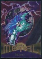 1995 Marvel Metal Trading Card #60 Morbius