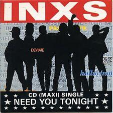 """INXS Need You Tonight 2 mixes US 12"""""""