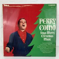 PERRY COMO SINGS MERRY CHRISTMAS MUSIC - Vinyl LP Record - 1969 Xmas Songs