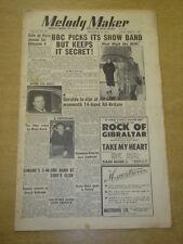 MELODY MAKER 1952 SEPTEMBER 13 GERALDO CAFE DE PARIS ELLINGTON BBC SHOW BAND +