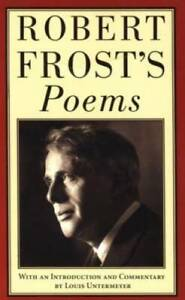 Robert Frost's Poems - Mass Market Paperback By Frost, Robert - VERY GOOD