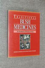 Traditional Bush Medicines. An Aboriginal Pharmacopoeia. 1st 1988 HB DJ VGC