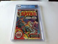 SON OF SATAN 1 CGC 9.4 WHITE PAGES STARLIN MARVEL COMICS