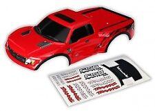 Traxxas 5815R Painted Body Ford Raptor Red Slash / Slash VXL / Slash 4x4
