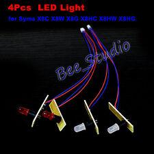 4PCS Night Flight LED Light For Syma X8C X8W X8G X8HW X8HG RC Quadcopter Drone