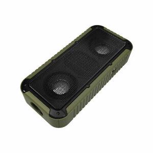 Viotek Clout Waterproof Bluetooth Speaker Microphone Bike Mount & LED Flashlight