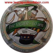 BELLE CAPSULE CHAMPAGNE VIGIER PERROT 60 ANS ERIC VIGIER NUMEROTE REF N°46 NEWS