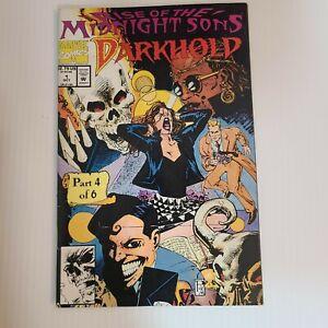 DARKHOLD #1 1992 MARVEL VF+