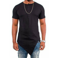 Mens Slim Fit T-Shirt Short / Long Sleeves Crew Neck Muscle Tee Sweater Tops New