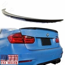 For BMW F30 & F80 M3 Sedan Carbon Fiber M Rear Trunk Boot Performance Spoiler
