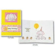 Inky Antics - Birthday Elephant Clear Stamps & Honeycomb Assortment Pack - Warm