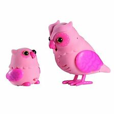 Little Live Pets Tweet Talking Pink Owl Baby Ages 5+ Toy Bird Play Heartwing Fun