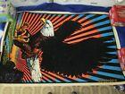 Original 1974 Vintage  EAGLE Blacklight 70s Poster Made in US