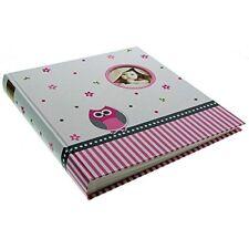 Goldbuch Babyalbum Eule rosa 60 Seiten 30x31 Pergamin Album Bilder Mädchen Baby