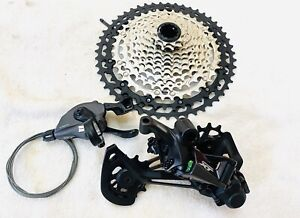 Shimano XT M8100 groupset 12 speed - 3 pieces