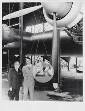 HOWARD HUGUES Aviation Claude PEPPER Politique Plane Avion Photo 1947
