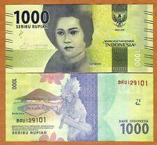 Indonesia, 1000 Rupiah, 2016, P-New, Redesigned, UNC
