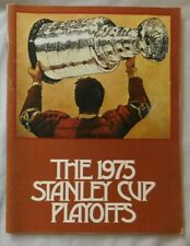 1975 Philadelphia Flyers Vs Buffalo Sabres Program 5/15/75