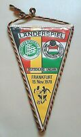 Orig.DFB Wimpel Deutschland Ungarn Länderspiel pennant Hungary Germany Frankfurt