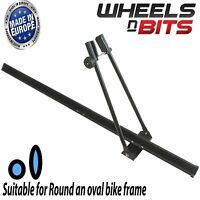 UNIVERSAL CAR ROOF BICYCLE BIKE CARRIER UPRIGHT MOUNT Clamp On  CYCLE RACK STORE
