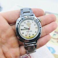 Old Vintage Komandirskie Vostok Wostok Watch Commander Russian Eagle USSR Soviet