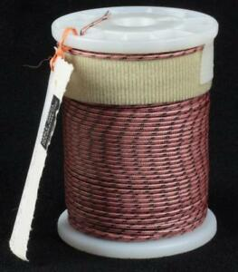 "OMEGA 1/16"" Cloth-Wrapped I/C White Iron/Constantan Thermocouple Wire Spool NOS"