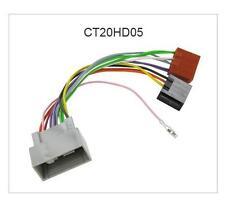 CT20HD05 Car Stereo Radio ISO Harness Adapter Wiring Honda Insight 09-15