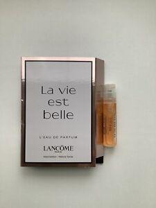 Lancôme 🌸LA VIE EST BELLE🌸 EDP Parfum Sample 1,2 ml