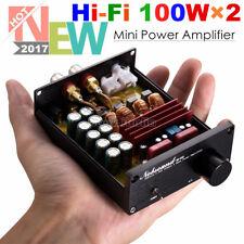 Nobsound Mini Digital Power Amplifier TPA3116 HiFi Stereo 2 Channel 100W×2 Black
