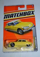 2010 MATCHBOX HERITAGE CLASSICS '68 CITROEN DS YELLOW 23 OF 100 VHTF !! RARE !!