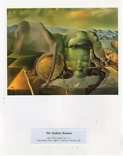 "SALVADOR DALI  Print Book Plate 9x12--""The Endless Enigma"" 1938"