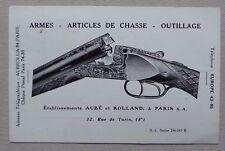 TH900) CPA AUBE ET ROLLAND PARIS 02/08/1932 - armes articles chasse outillage