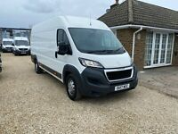 Peugeot Boxer 435 PRO L4 H2 Blue HDI 2017/17 EU6  63K Miles ** Offers Accepted**
