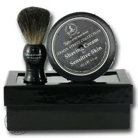 Taylor of Old Bond Street Jermyn Street Shaving Cream & Shaving Brush Gift Set