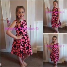 Princess Spandex Sleeveless Dresses (2-16 Years) for Girls