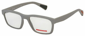 Prada Sport Eyeglasses PS 07GV UFO1O1 53 Grey Frame [53-18-140]
