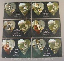 114239, Patriotische Postkarten, Serie, FRAU / FELDGRAUER SOLDAT, Fink No. 830