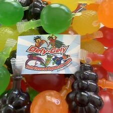 Dely-Gely Fruit Flavored Squeezable Jellies Jelly Candy Pieces Tik Tok Challenge