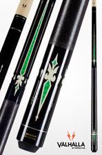 Valhalla by Viking VA321 Green Pool Cue Stick Linen 18 oz LIFETIME WARRANTY