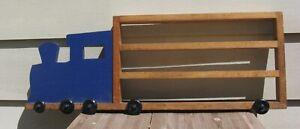 Thomas and Friends Train Themed Wooden Train storage shelf