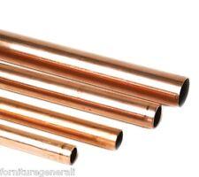 TUBO RAME IN ASTA DA 2,5 METRI DIAMETRO DA 12 A 54mm ISOCLIMA