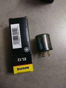 Novita 12V Tridon EL13 Blinker Turn Signal Emergency Lights Flasher 3 Term 1-10
