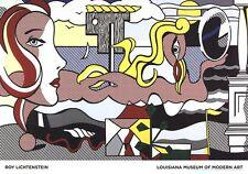 Figures in Landscape by Roy Lichtenstein Art Print 2016 Poster 27.5x39.5