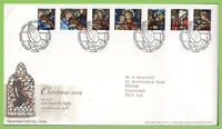 G.B. 2009 Christmas set on Royal Mail First Day Cover, Bethlehem