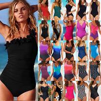 Women Bandage Monokini Push Up One-piece Swimwear Beach Bathing Swimsuit Bikinis